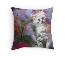 Little Secrets  Throw Pillow