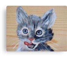 lil kitty Canvas Print