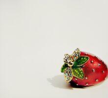 Strawberry.  by VioletInk