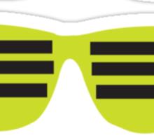 funky shades Sticker