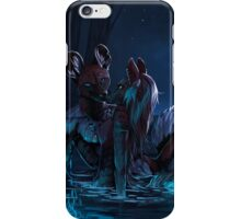 Gentle is the Night iPhone Case/Skin