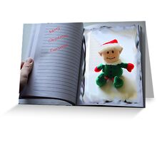 Christmas Book Greeting Card