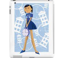 Time Traveling Girl iPad Case/Skin