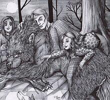 Hannibal AU - Werewolf Will by Furiarossa