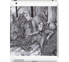 Hannibal AU - Werewolf Will iPad Case/Skin