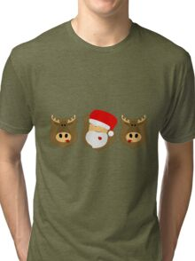no Christmas! Tri-blend T-Shirt