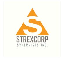 StrexCorp Synernists Incorporated. Art Print