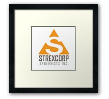 StrexCorp Synernists Incorporated. Framed Print