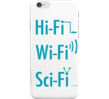 Hi-Fi Wi-Fi Sci-Fi iPhone Case/Skin