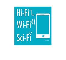 Hi-Fi Wi-Fi Sci-Fi Photographic Print