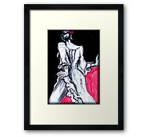 Fine With Me! - Spanish Blood Framed Print