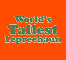 World's Tallest Leprechaun Kids Clothes