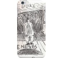 DUKE - GENESIS - HAND REDRAWN(C2012) iPhone Case/Skin