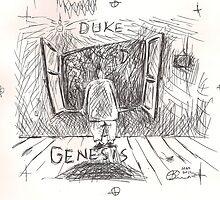DUKE - GENESIS - HAND REDRAWN(C2012) by Paul Romanowski
