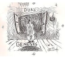 DUKE - GENESIS - HAND REDRAWN(C2012) Photographic Print