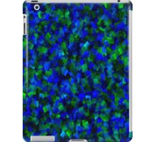 Blue and Green/Sapphire and Emeralds iPad Case/Skin