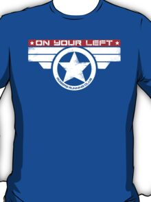 """On Your Left"" Hybrid Inverted T-Shirt"