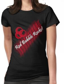 Red Bubble Rocks! T-Shirt Womens Fitted T-Shirt