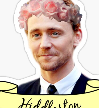 Tom Hiddleston Sticker