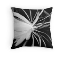 Queen of the Night (B&W) Throw Pillow