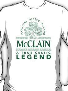 'McClain, A True Celtic Legend' T-Shirt