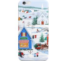 Wintertime in Sugarcreek iPhone Case/Skin