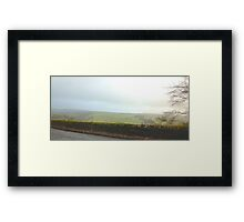 Rolling Hills in Yorkshire UK Framed Print
