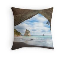 Cathedral Cave Throw Pillow
