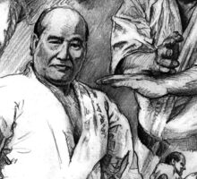 Sosai Oyama - Kyokushin karate Sticker