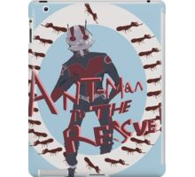 Ant-man comes again! iPad Case/Skin
