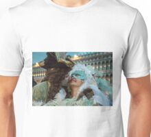 Masked Lovers in Venice Unisex T-Shirt