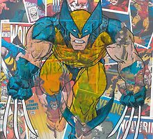 Vintage Comic Wolverine by Daveseedhouse