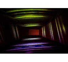 Abstract Light Painting Box Photographic Print