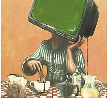 My Tv Heart  by Michele Giorgi