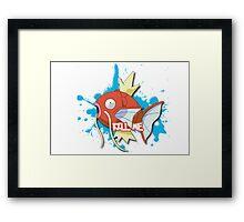 KILL ME - Magikarp Framed Print