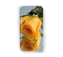 Yellow Rose on Glass Samsung Galaxy Case/Skin