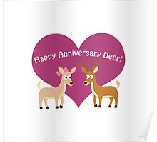 Happy Anniversary Deer! Poster
