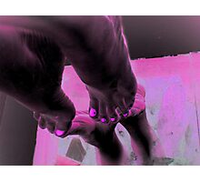 Have YOU ever ever Walked in MY Shoes? Photographic Print