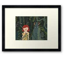 the jungle Framed Print