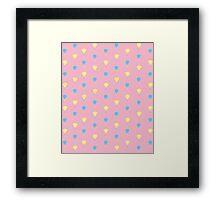 Pinkie Pies Mark Framed Print