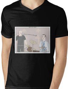 Forrest Gump + Whiplash Mens V-Neck T-Shirt