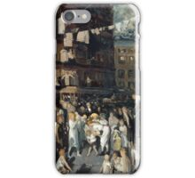 George Wesley Bellows, Cliff Dwellers, 1913 iPhone Case/Skin