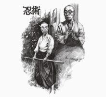 Tishitsugu Takamatsu - Ninja tee by Alleycatsgarden