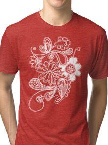 flowers T-shirt  Tri-blend T-Shirt