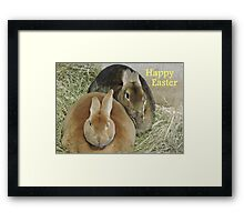 Easter Bunnies Framed Print