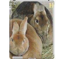 Easter Bunnies iPad Case/Skin