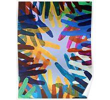 Rainbow Hands Poster
