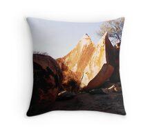The granites june Throw Pillow