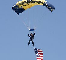 US NAVY LEAP FROG PARACHUTEST by TomBaumker