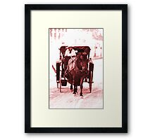 A Trip to the General Store Framed Print